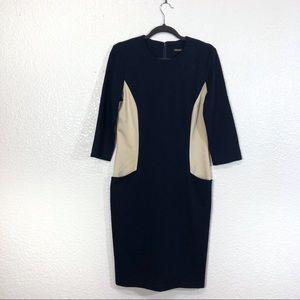 J. McLaughlin Sheath Colorblock Dress Size Medium